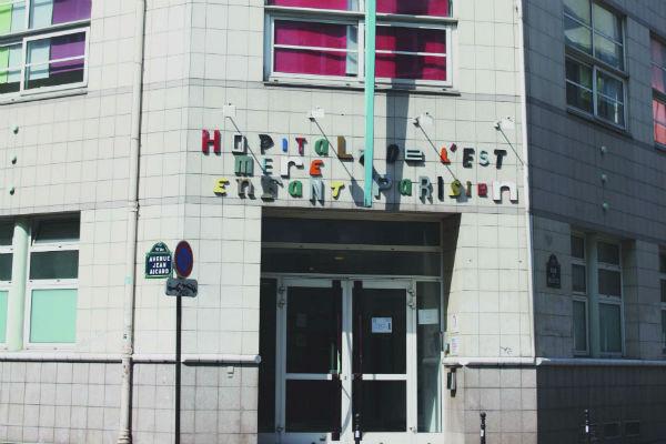 Facade de l'Hopital Mere Enfant de l'est parisien