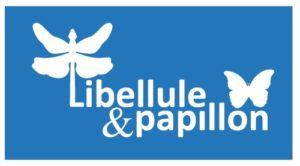 logo creche libellule et papillon