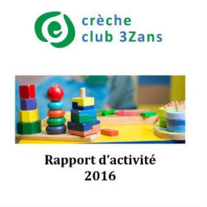 Rapport D Activites Club 3Zans