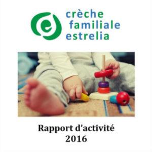 Rapport D Activites Creche Familiale