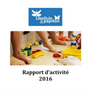 Rapport D Activites Creche Libellule Et Papillon