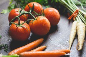 Des légumes frais issus de l'agriculture biologique